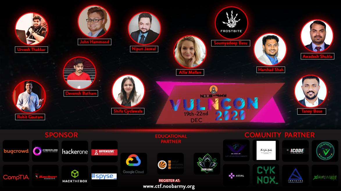VULNCON-2020-Cybersecurity conference